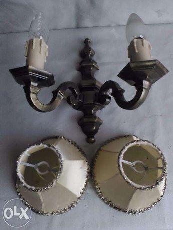 Lampa veioza lateral bronz