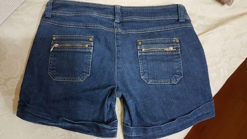 Къси дънкови панталонки, М размер с. Старо село - image 1