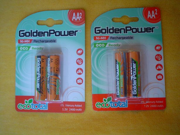 acumulatori Golden Power AA - sigilati