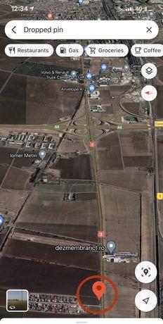 Teren Constanta - Valu lui Traian 7800 mp pe colt deschidere la DN