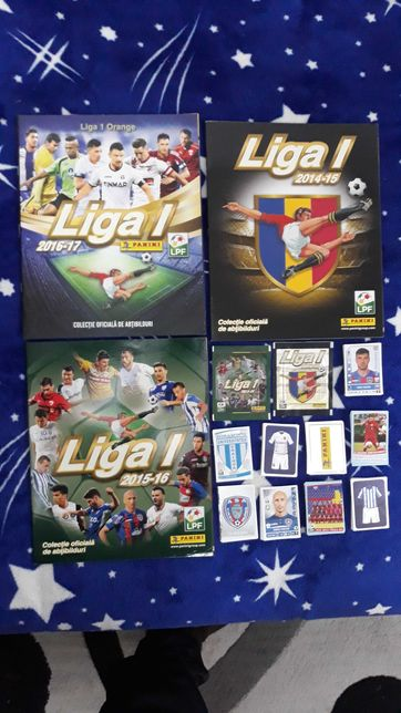 Albume goale, plicuri, stickere Liga 1 2014, 2015, 2106