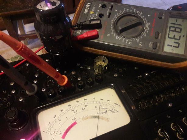 Tub lampa 6L6 FIVRE stare SH strong test audio radio vechi colectie