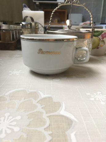Чайная чашка из серии «ресторан» раритет