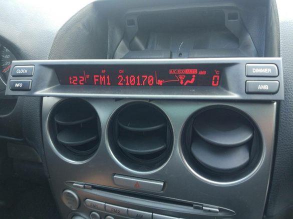 Ремонт дисплей на Mazda 6