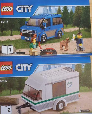 Lego City furgoneta si rulota 60117