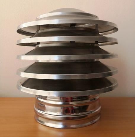 Коминна шапка - Пагода, Инокс 430, Ф 80 - Ф 350, шапка за комин