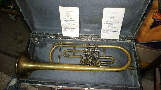 Корнет флюгельгорн труба