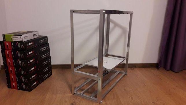 Carcasa mining 12 - 13 - 19 GPU , Ethereum, BTC, minat, rig, rack