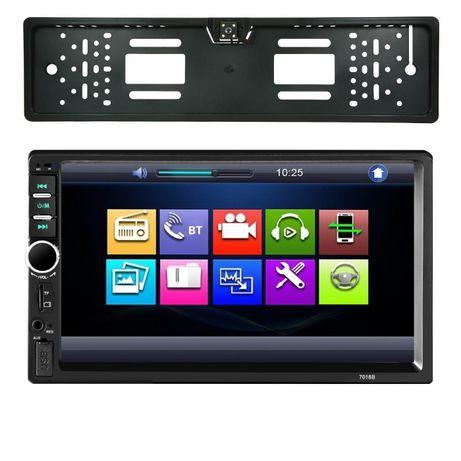 Dvd Auto Mirrorlink 2 din, ecran 7 inch +Camera suport numar