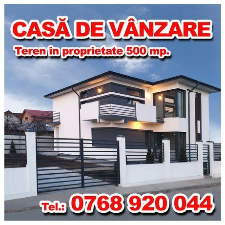 Casa pe 500 metri de vânzare în Dragomiresti-Deal !
