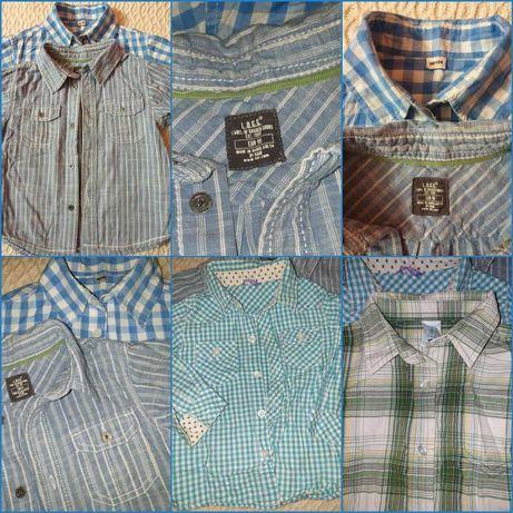 НАМАЛЕНИ! 4 бр. ризи, две с къс и две с дълъг ръкав