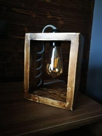 нощна лампа ръчно изработена