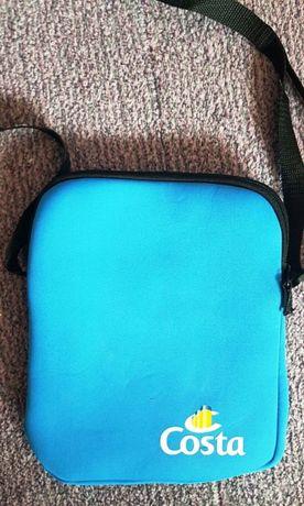 Gentuta husa albastra din burete pentru tableta. Marimea 25X20 cm