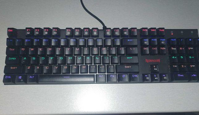 Tastatura gaming mecanica Redragon Rudra Rainbow LED