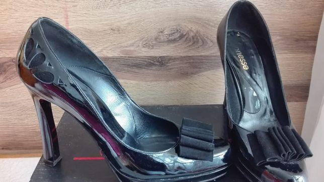Pantof negru, elegant , nr. 40