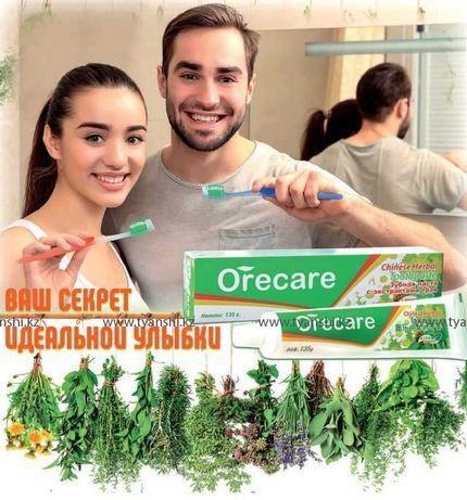 """Зубная паста с экстрактами китайских целебных трав """"Orecare"""""""