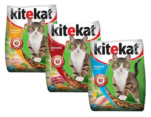 Сухой корм Кити кет kitekat