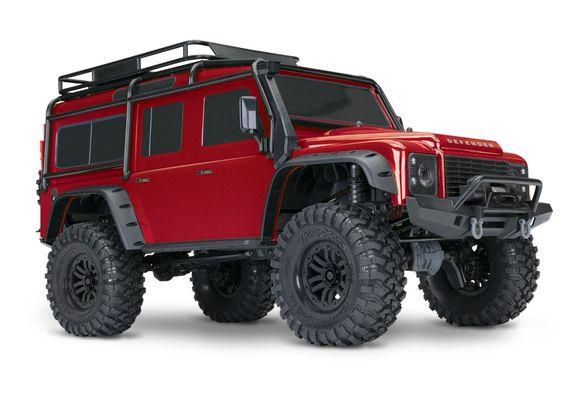Traxxas Land Rover Defender TRX-4 Crawler 4x4 катерач с дистанционно