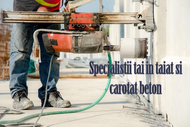 Gaura hota gaura centrala gaura aerisire carotat beton
