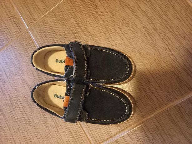 Pantofi piele intorsa baieti marimea 31
