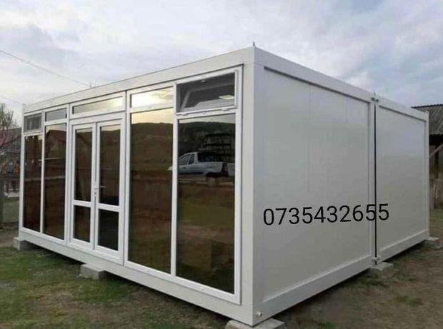 Container birou vestiar containere șantiere vitrina depozitare paza