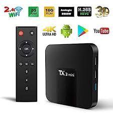 ТВ андройд приставка Tanix Tx3mini 2 GB ОЗУ и 16 GB HDD