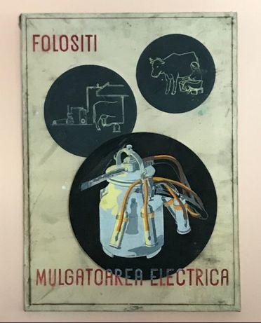 609ta Afis prototip, de propaganda comunista, semnat Bredau Viorica.