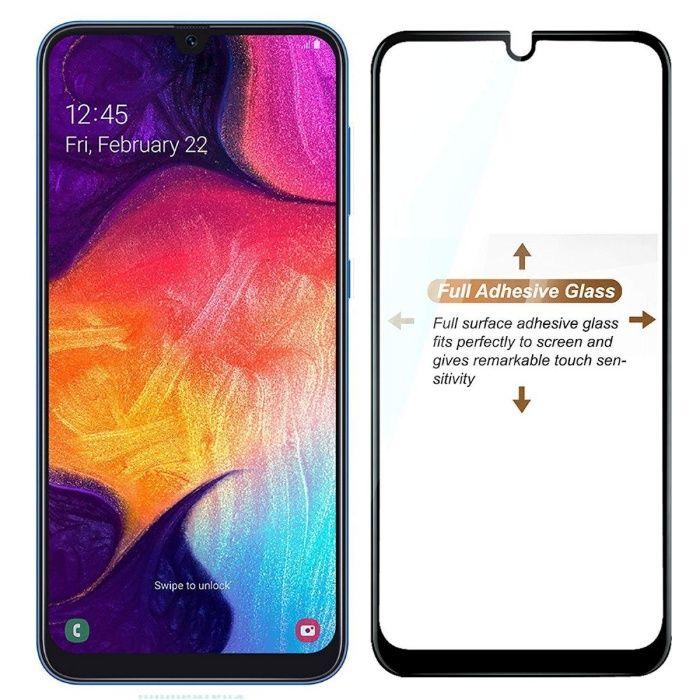 Стъклен протектор Full Glue за Samsung Galaxy A50, A40, A30, A70, A10