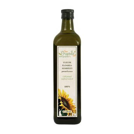 Ulei de Floare Soarelui Presata la Rece 750 ml