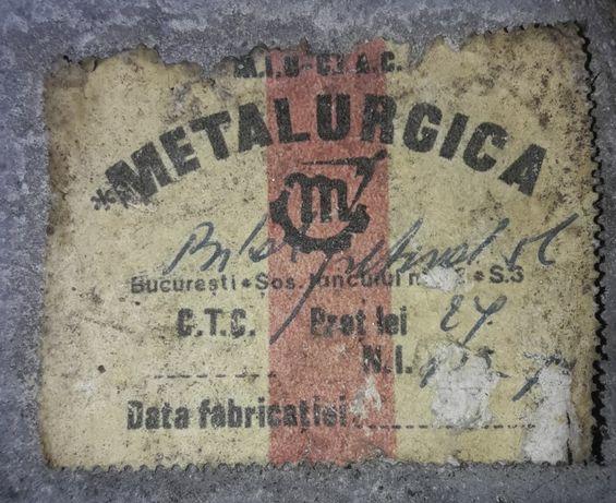 Canistra metalica Metalurgica Bucuresti