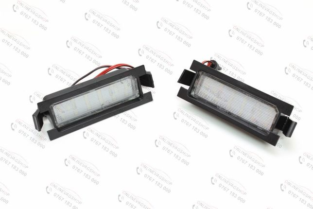 Set lampi LED numar Hyundai I30, set 2 lampi