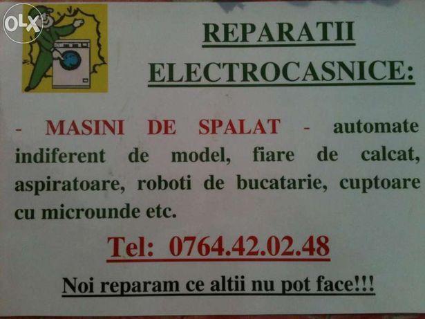 Reparatii masini de spalat, electrocasnice