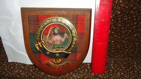"""Шотландски сувенир """"Възпоменателен щит"""""""