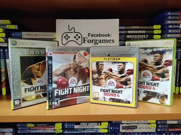 Vindem jocuri consola Xbox 360 Fight Night Round 3 și 4 PS3