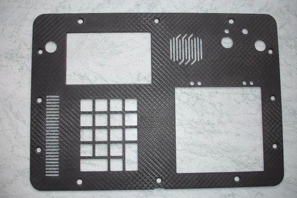 Услуги с ЦНЦ, ЦПУ, CNC рутер фреза. Детайли от карбон.