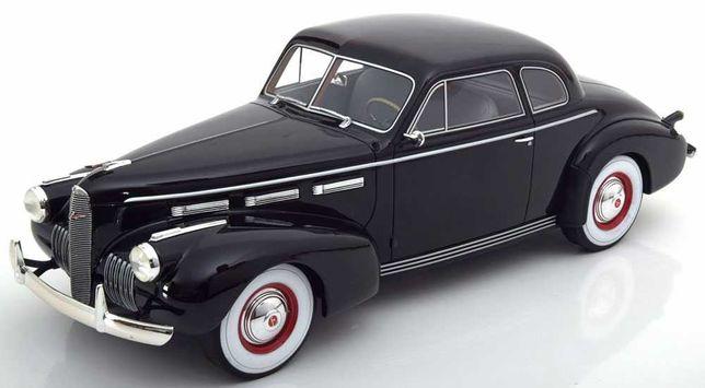 Macheta LaSalle 50 Coupe 1934 negru - BOS Models 1/18 (La Salle)