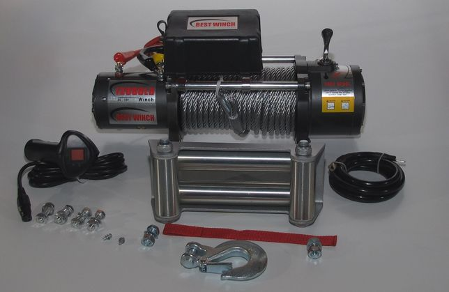 Troliu Electric Tractare BestWinch 12000LBS 12V ! platforma off road