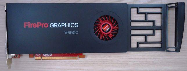 Placa video AMD FirePro V5900 2GB DDR5 - 256bit