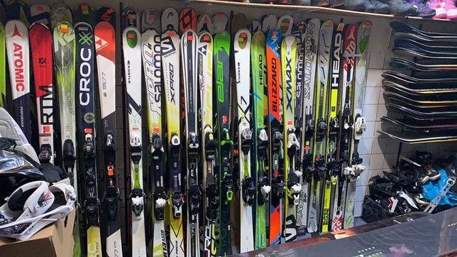Schiuri 80 cm - 180 cm modele 2019-2014 Atomic Fisher Salomon ski schi
