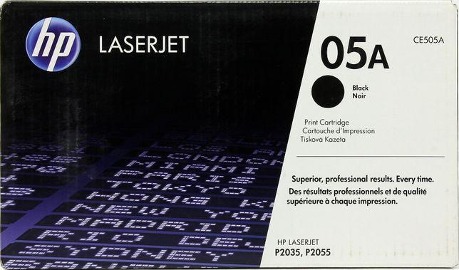 Продам оригинальный картридж HP CE505A (HP 05A)