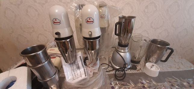 Миксер для малочных коктейлей Sirman Sirio 2chrome производство Италия