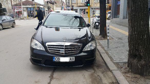 AMG пакет за Mercedes W221