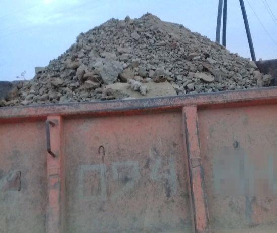 Для планировки щебень,пгс,цемент в перемешку!