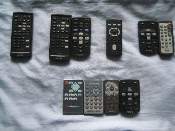 Продавам дистанционни за авто CD Sony Pioneer и други