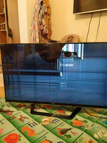 Продам телевизор рабочий экран только меняете и все