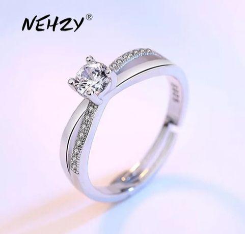 Новое кольцо 925 пробы серебро