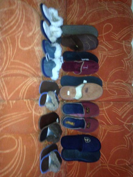 Пантофи,чехли,цървулки,терлици-естеств.кожа меки, топли и много пр