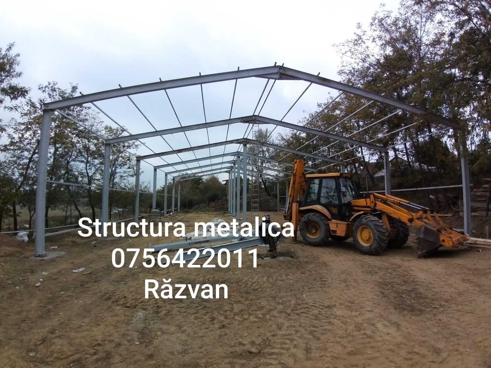 Vand structura metalica 14m×30×5m