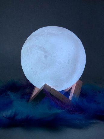Ночник, луна, 3D-ночник, доставка по Костанаю бесплатная