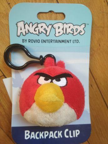 Продаётся игрушка-подвеска на рюкзак Angry Birds! Фирменная.